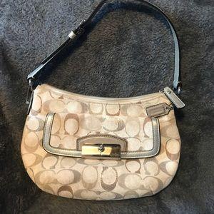 Sequin COACH shoulder bag